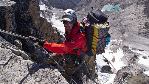Rapping the Yellow Tower - Ama Dablam