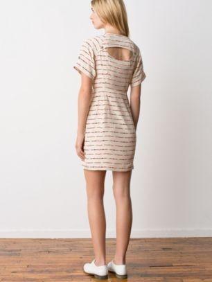 <br/> Antelope Trench Silk Dress