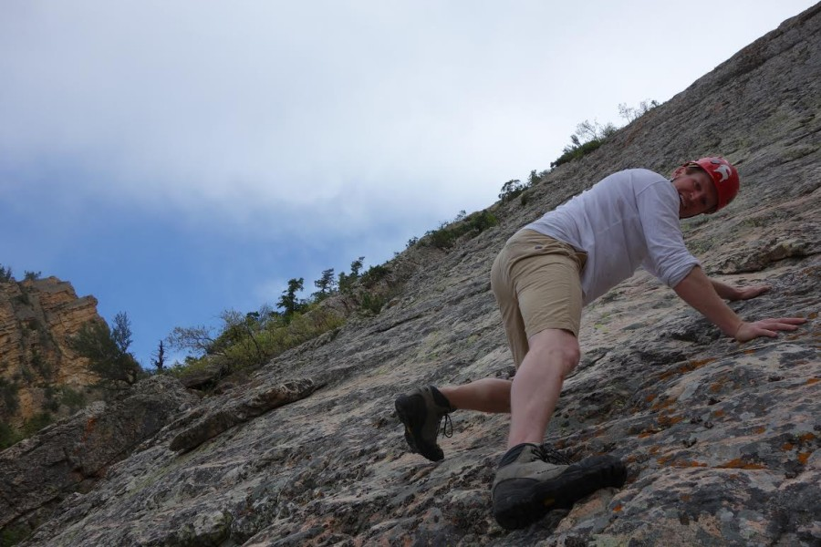 Climbing the West Slabs