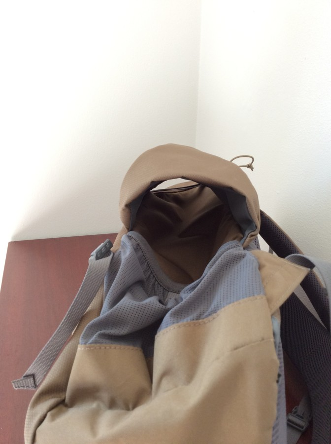 Side Detail photos of Kelty pack