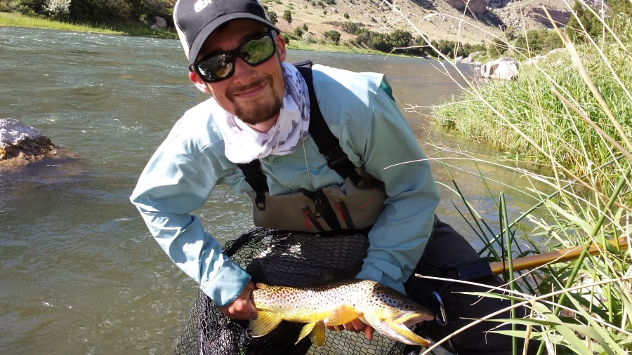 Fly Fishing the Wind River, WY