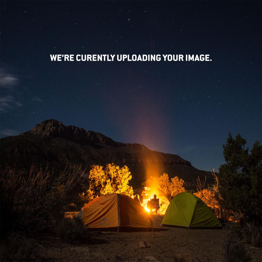 Tent at 3500 feet