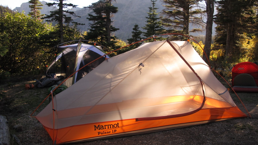 Marmot Pulsar 1P in Glacier Nat'l Park