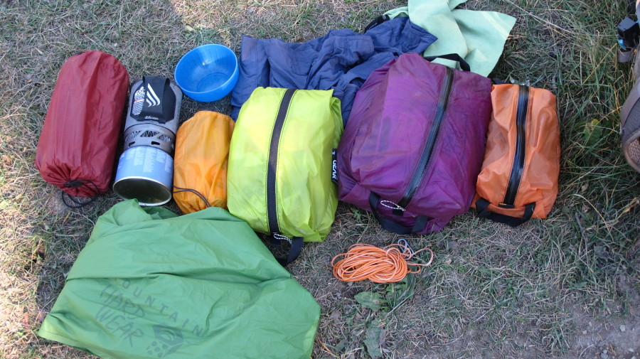Granite Gear Air Zippsacks Rock!