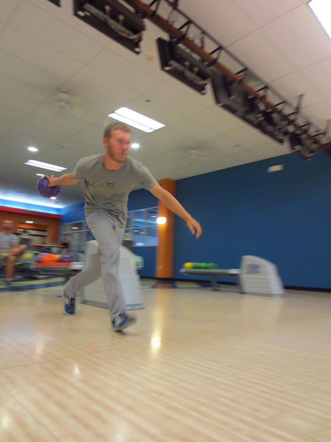 Stretch is great for bowling