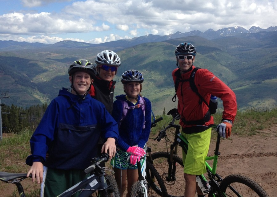 Ridin with the Fam in Vail!