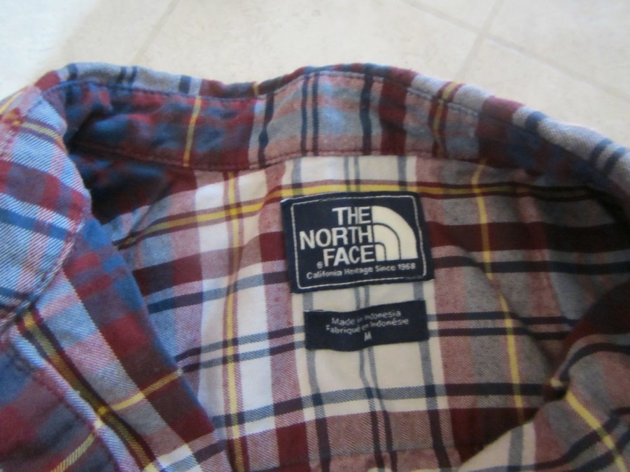 The North Face Catalina shirt.