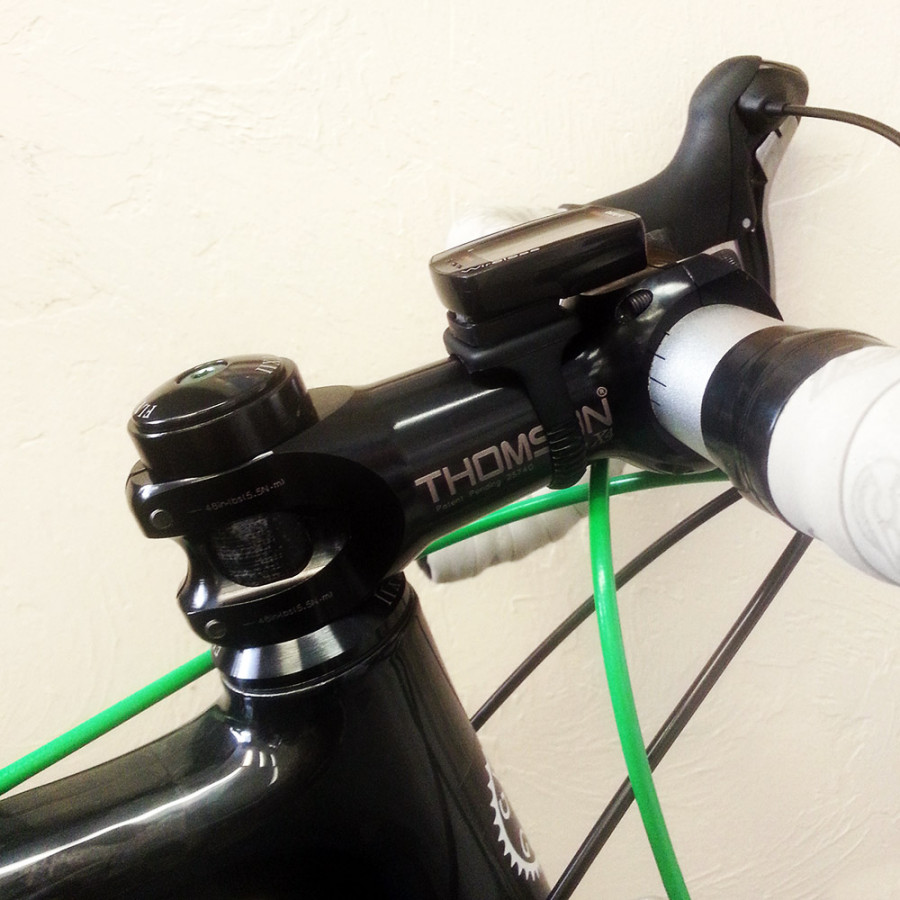 Works great for a road bike too!