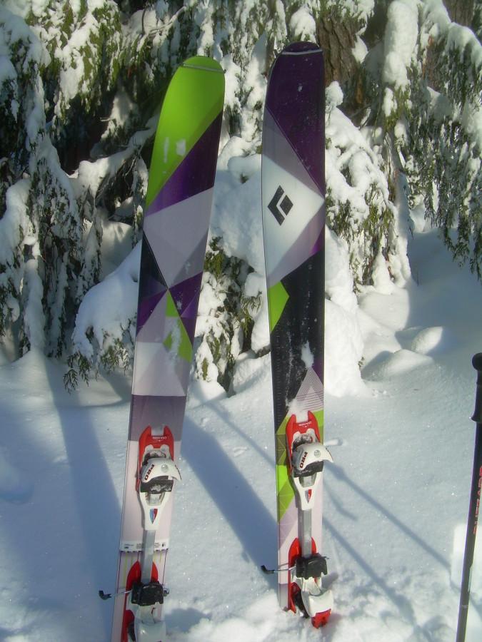 Amazing skis!