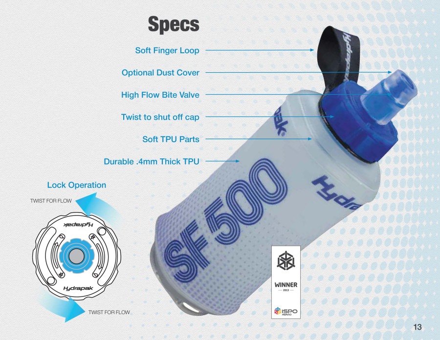 SoftFlask Specs