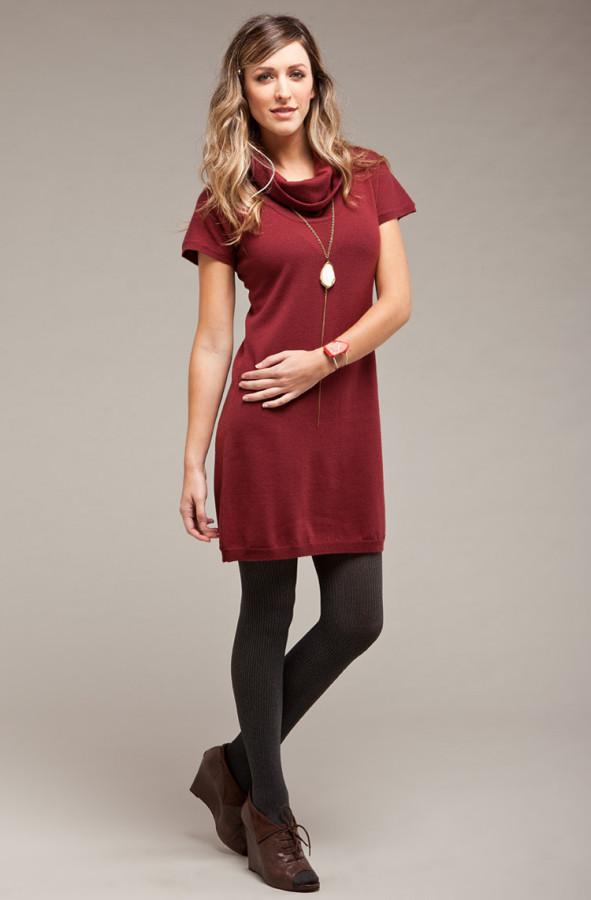 The ideal autumn dress.
