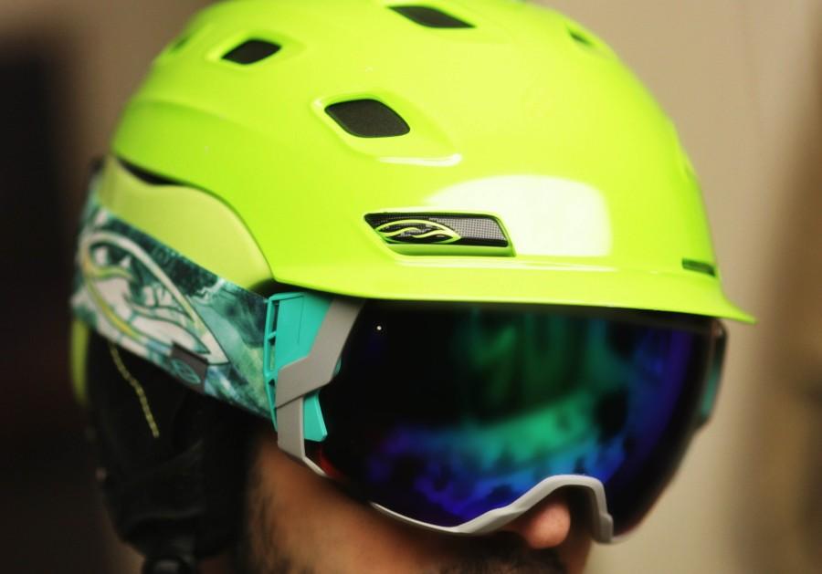 I0/7 Sage on Smith Vantage Helmet