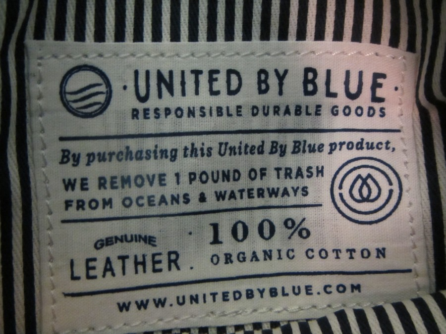 United by Blue Canvas Pouch.