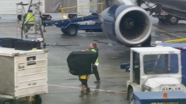 Transfer between flights at Charlotte
