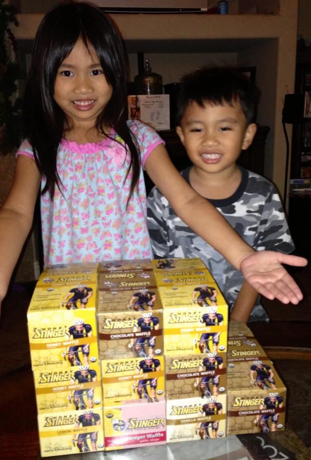 Honey Stinger for the whole family!