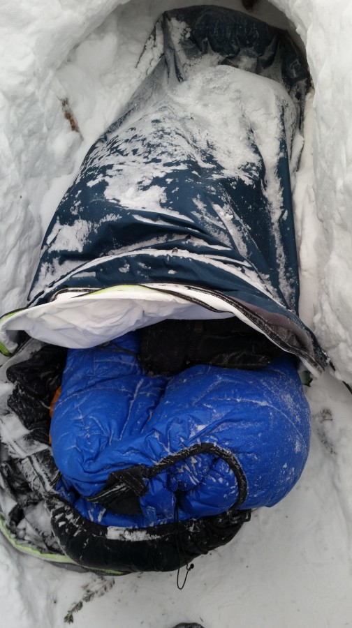 Perfect Winter Bivy