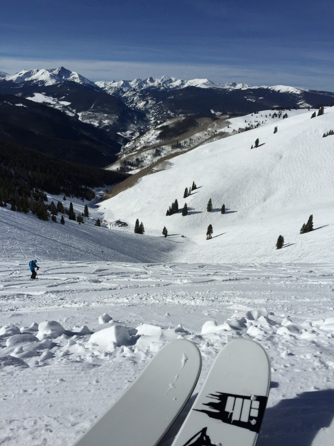 Back bowls of Vail