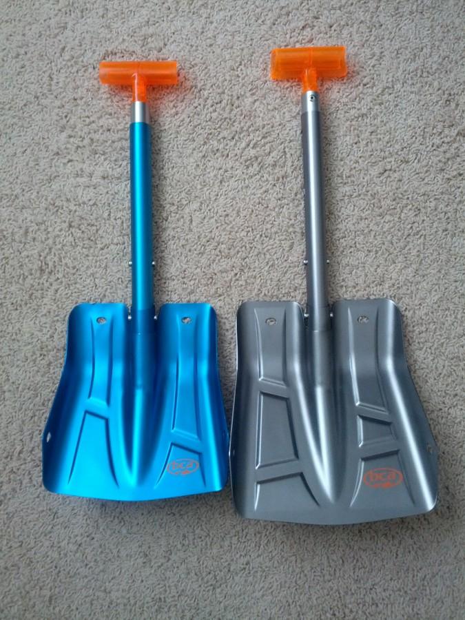 B1 vs B2 shovel blade comparison