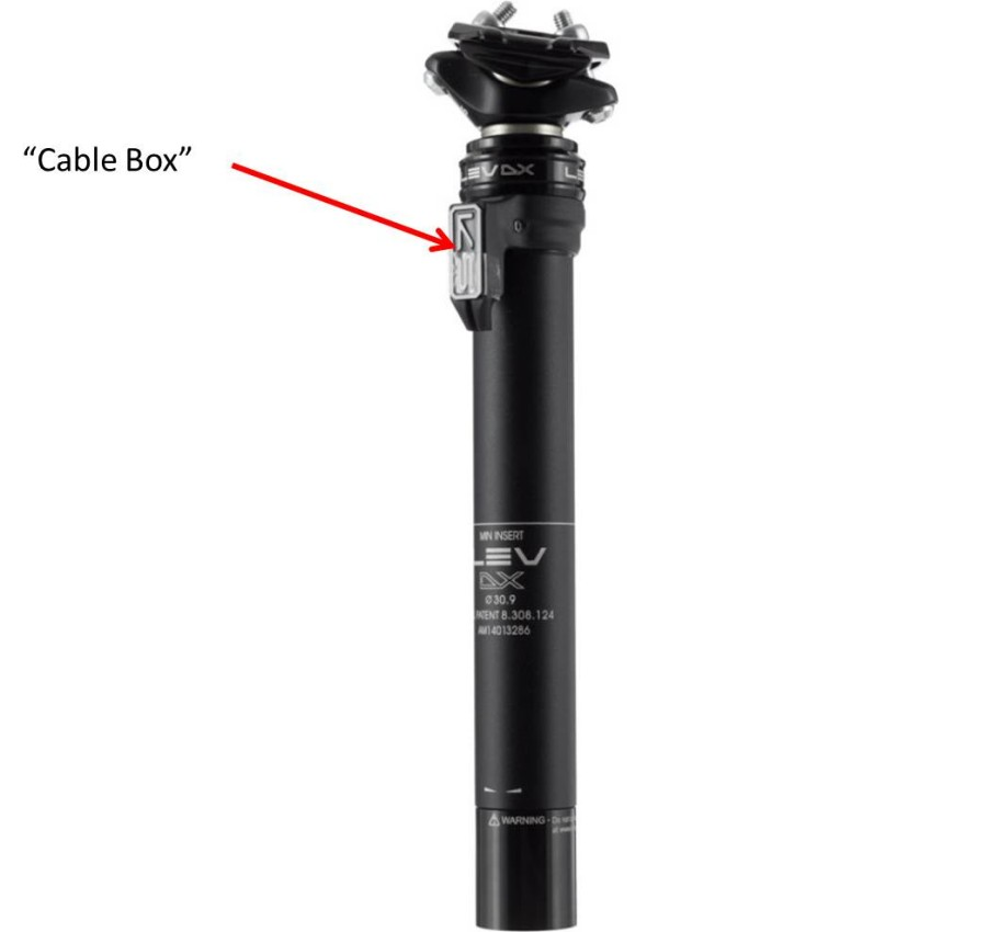 "Seatpost ""Cable Box"""