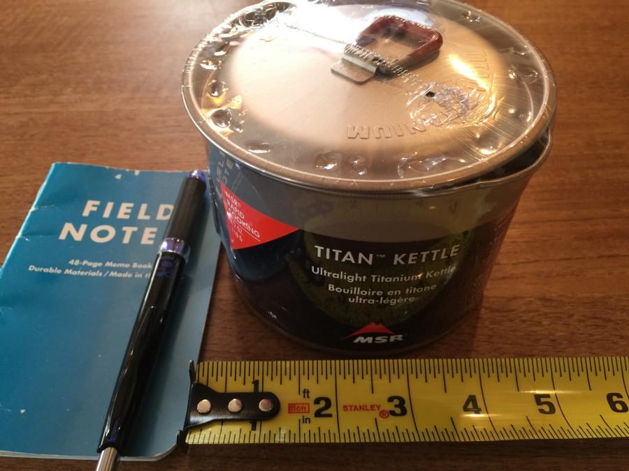 titan measurements
