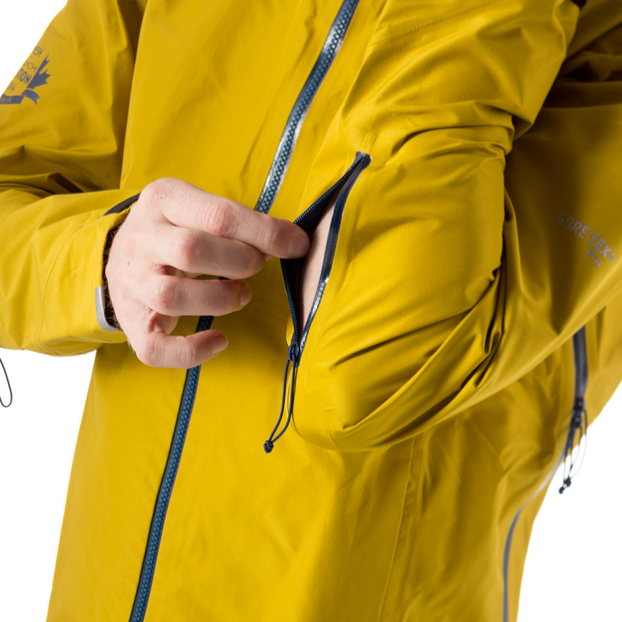 Gore-Tex's Pro three-layer membrane