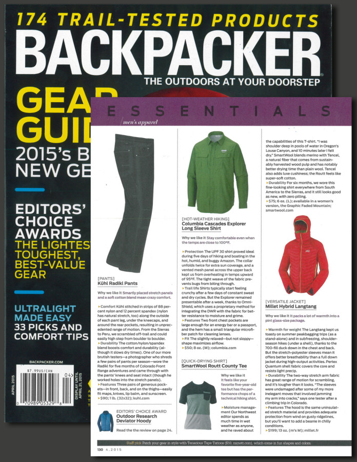Millet Langtang review from Backpacker
