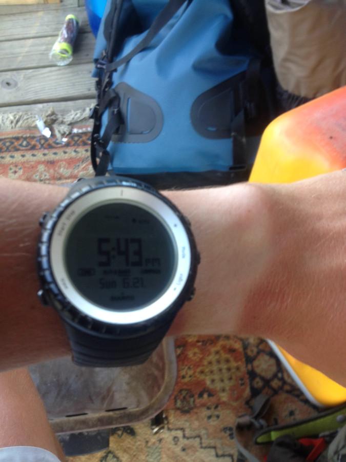 62 mile kayaking/camping trip...