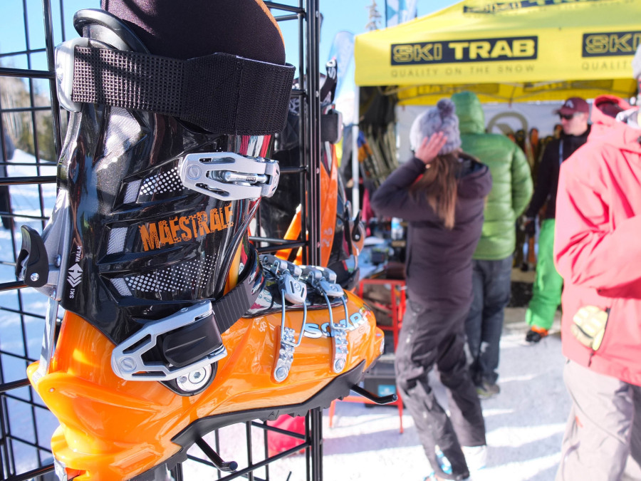 At the Outdoor Retailers on-snow demo