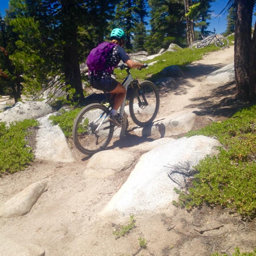 Xterra Flume Trail Practice in Tahoe