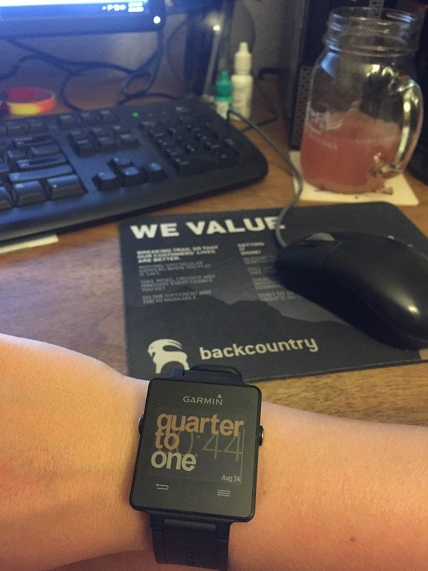Example of a different watch face
