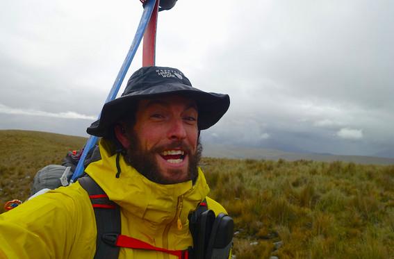 Raining in Peru