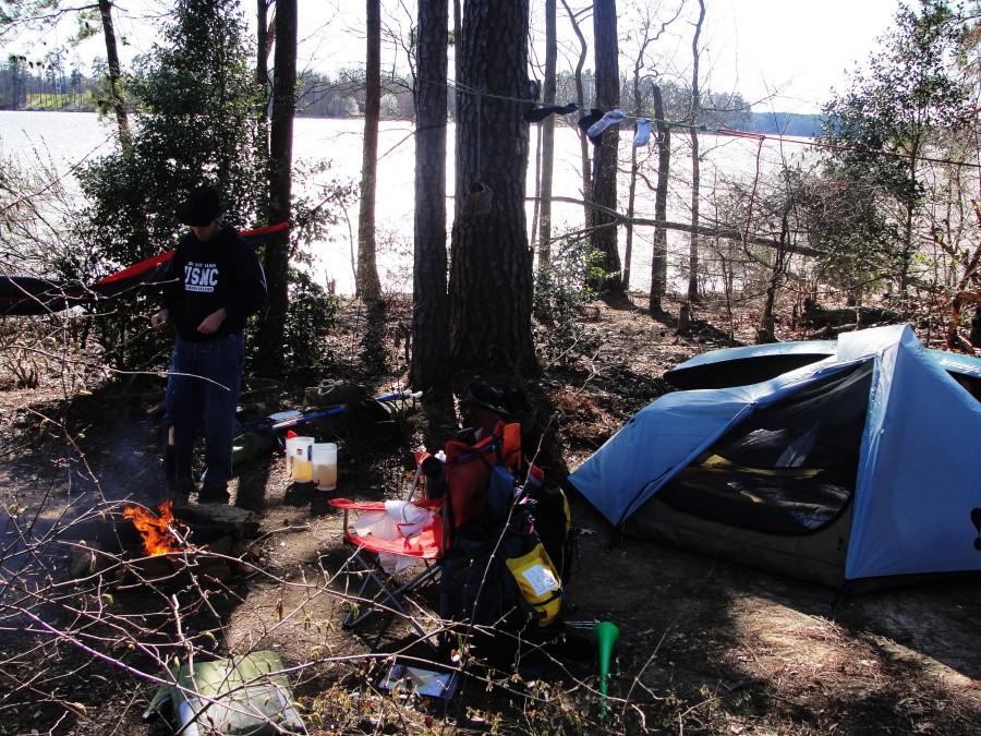 A good tent...