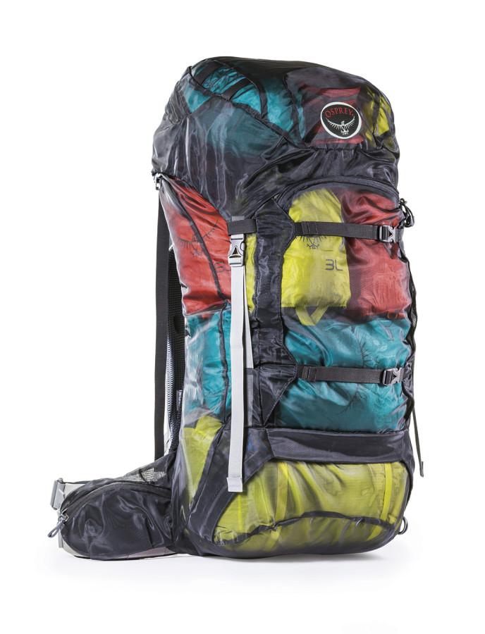 Osprey's efficient stuff sack concept!