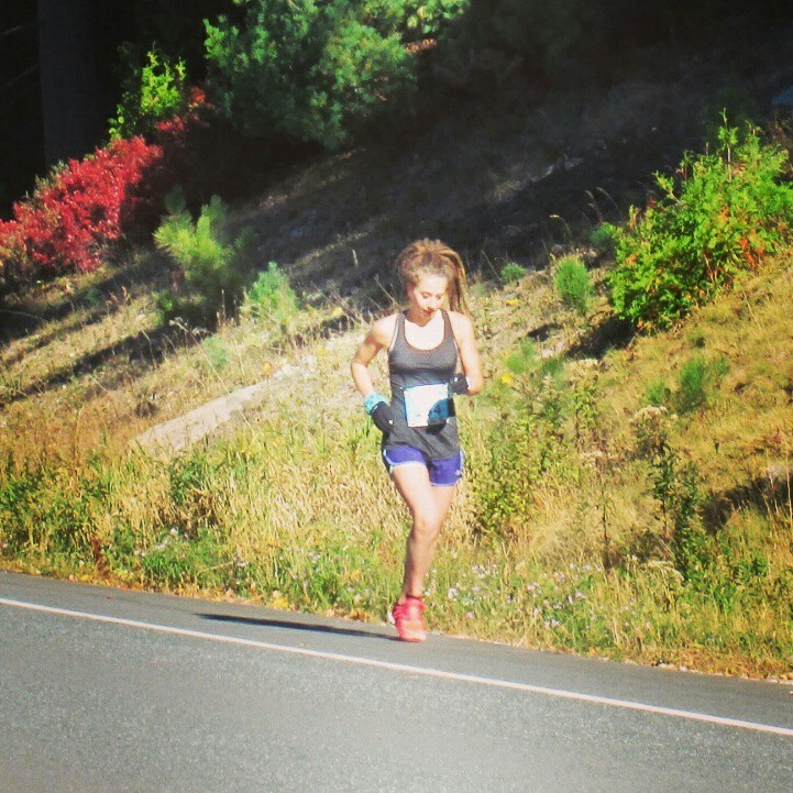 Crushing the marathon, as per usual!