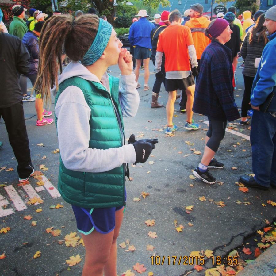 Pre-Marathon Warmth!
