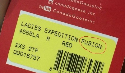 Canada Goose' Expedition Fusion Fit Parka - Men's XL - Black
