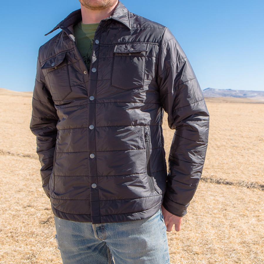 Woolcloud insulated shirt jacket