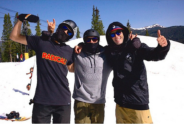 Sandbox crew at Copper Mtn