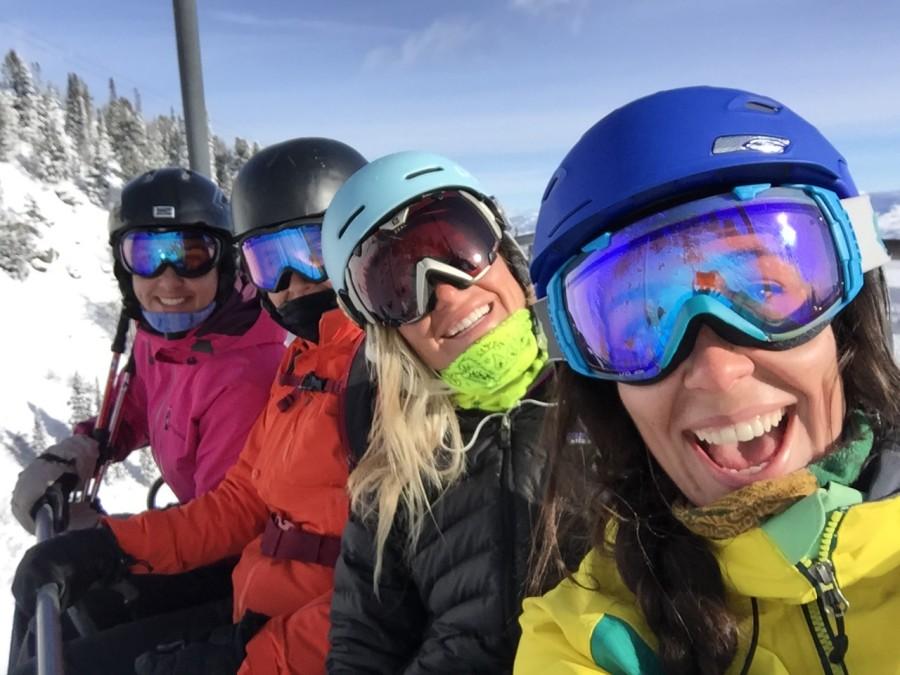 Jules Kirby, Jackson Hole, skier