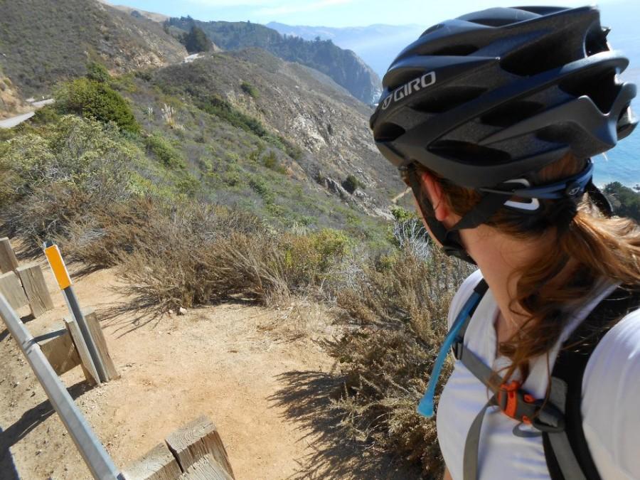 Biking Highway 1, CA Coastal Highway