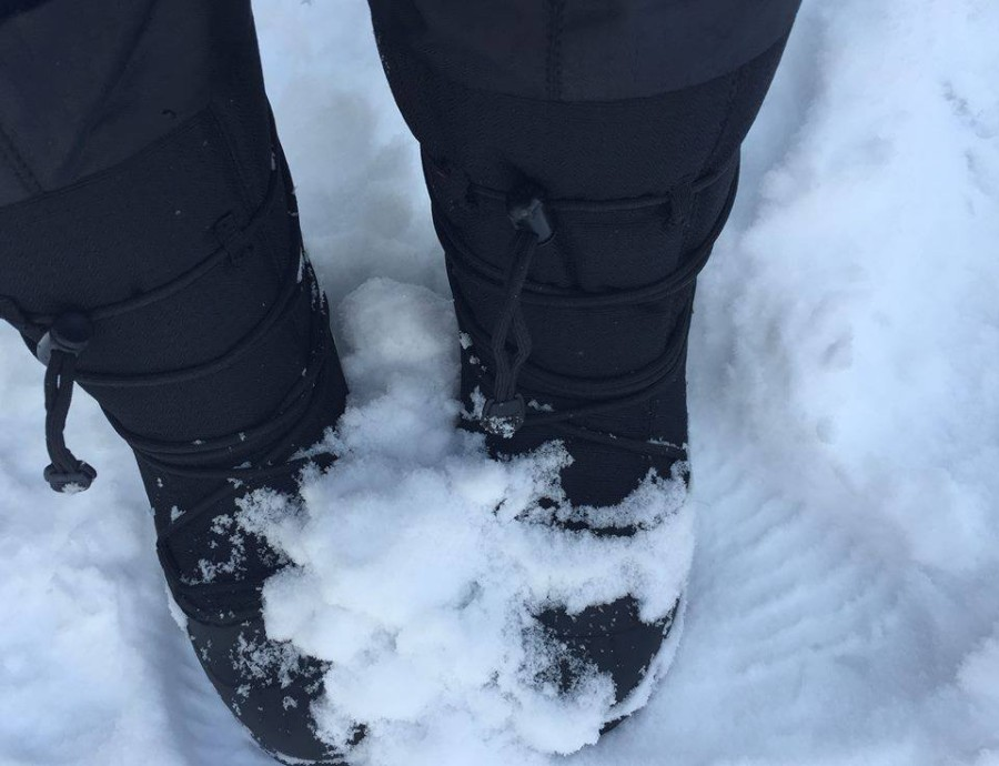 Solid winter boot
