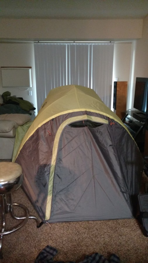 Great value, large tent, seams durable