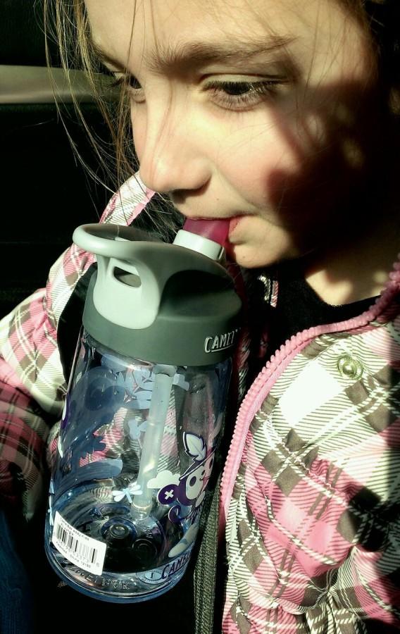 Perfect, leak-free, kid's water bottle.