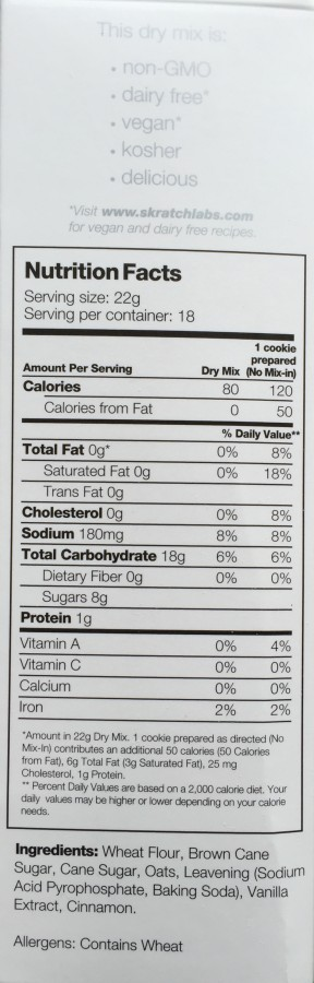 Nutritional Data