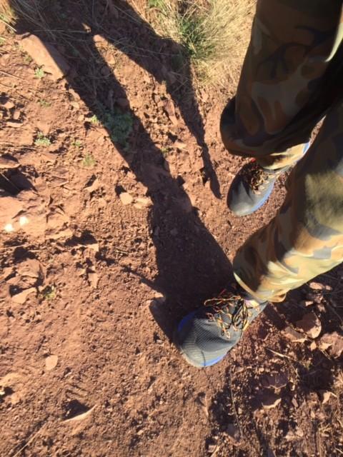 Baggies pants trail selfie