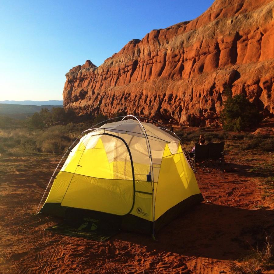 The Cadillac of Car Camping Tents