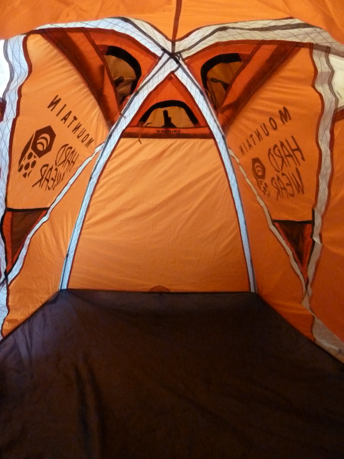 A pretty tent, but indeed a narrow fit!