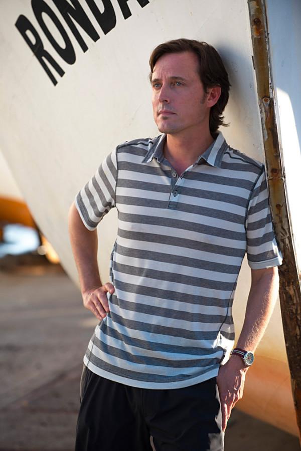 Sol Cool Jacquard Polo Shirt
