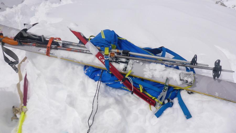Ski Carry Configuration
