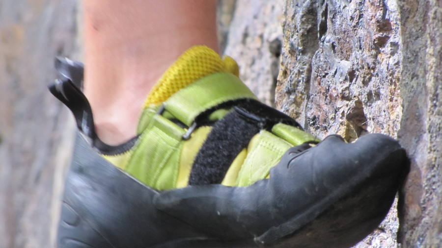 Great climbing shoes